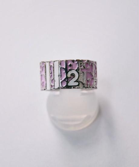 Christian Dior/ trotter ring-pink