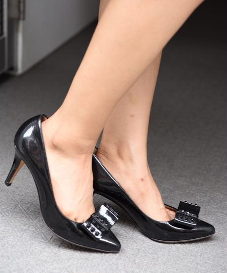 FENDI/pointed-toe pumps