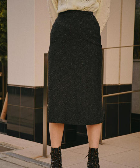 VAL by VALENTINO / vintage wool mix skirt