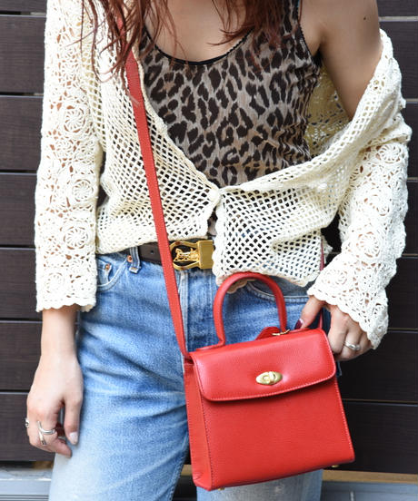 COACH/mini shoulder bag