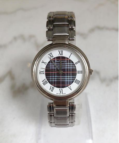 Burberry/ vintage nova check motif  quartz .076(U)