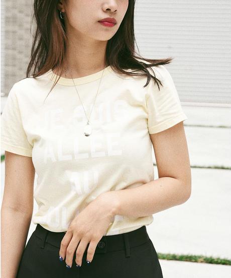 MAISON KITSUNE/ logo T shirt