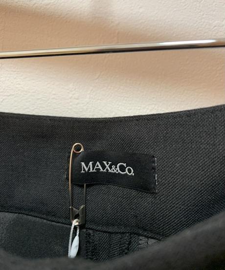 Max&Co./ vintage belt design slacks.