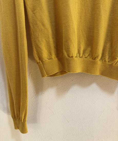 MOSCHINO/ vintage pearl design knit cardigan.