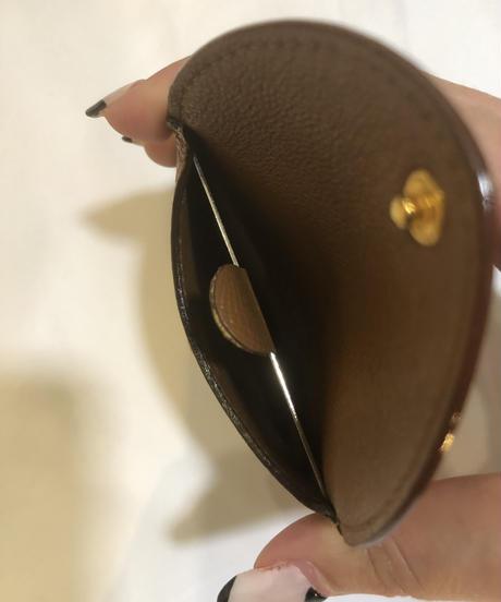 BVLGARI / vintage simple design  coin case.