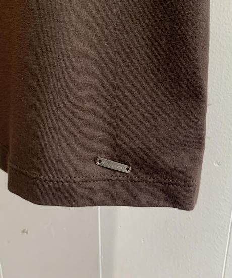 CELINE / vintage simple bi-color t-shirt.
