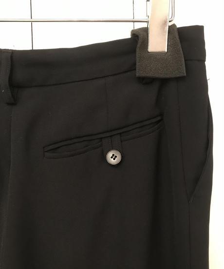 agnes b. / center press straight pants.