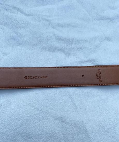Ralph Lauren/ Vintage brown leather belt.