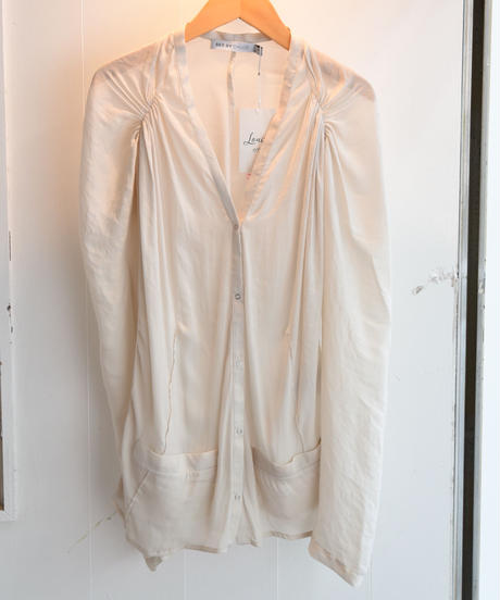 SEE BY CHLOE/ see-through blouse.