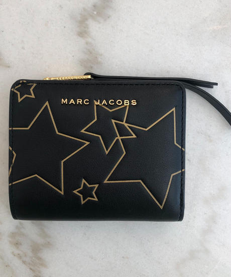MARC JACOBS/ star design square wallet.