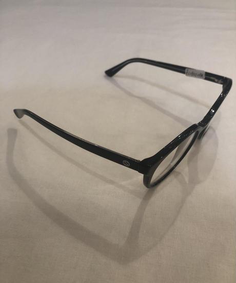GUCCI / vintage GG logo boston glasses(blk).(U)