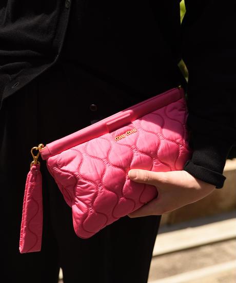 miu miu / vintage design  mini clutch bag.