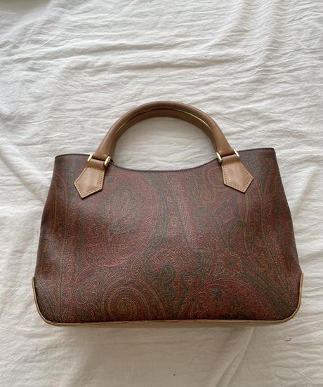 ETRO / vintage paisley pattern handbag.