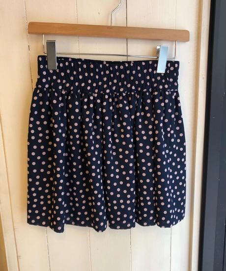 VALENTINO/ dot mini skirt