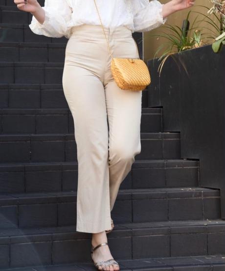 Yohji Yamamoto/ beige slacks