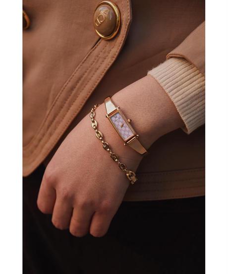 GUCCI  / vintage gold×pink 1500L  quartz .