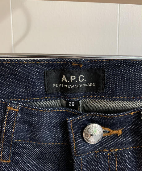 A.P.C. / iconic simple denim.