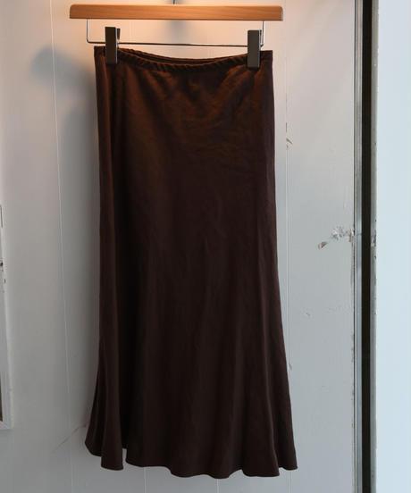 agnes.b/linen mermaid line skirt