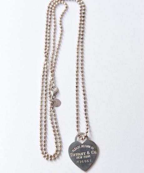 Tiffany&Co./ Return to Tiffany necklace
