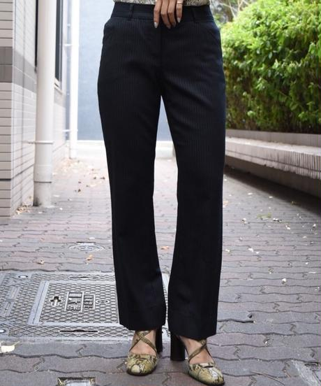 Dolce&Gabbana/ stripe straight slacks