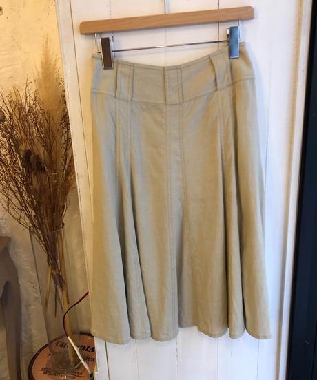 DKNY/ volume flare skirt