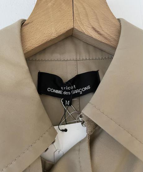 COMME des GARCONS. / design trench coat.