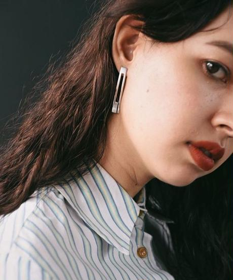 GUCCI/ Silver plate pierce