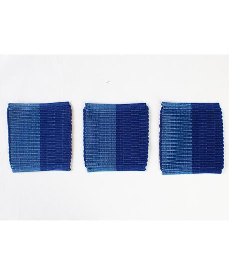 藍綿コースター 6枚セット