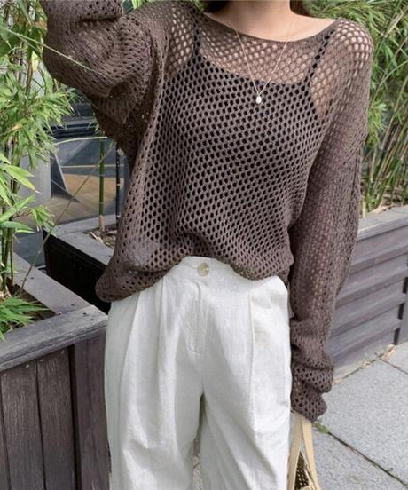 Openwork knit