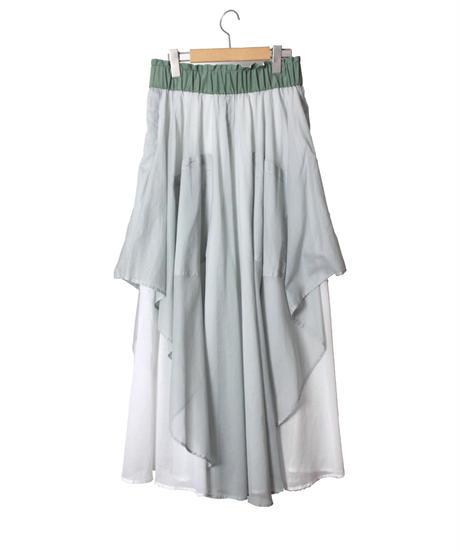 【ワッシャーローン】 リバーブルスカート