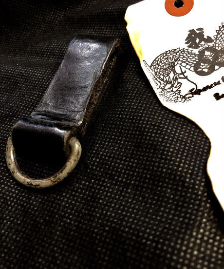 1940,s vintage U.S.A. IRON Walletchain カスタマイズパーツシリーズ❾ ★40,s U.S. vintage Military Leather Keyloop
