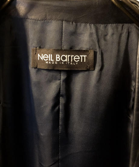 Neil Barrett MADE IN ITALY SHEEPLEATHER VEST 極上美品