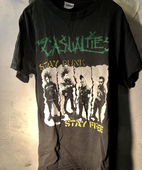 THE CASUALTIES 80,s PUNK-Tee