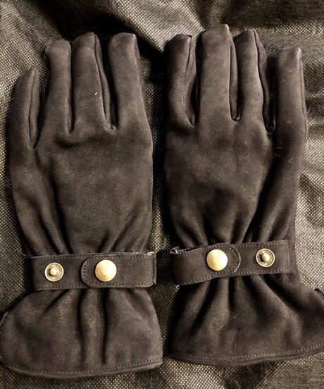 90,s  イングランド製Paul Smith × DENTS LEATHER GLOVE美品