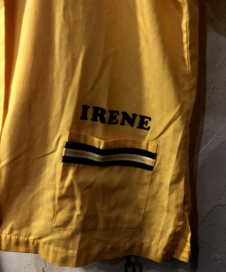 U.S.A.製80,s Hilton YELLOW BOWLING SHIRT36