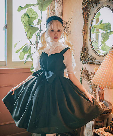 [Baroque] Hyacinth セットアップジャンパースカート【ご予約商品】