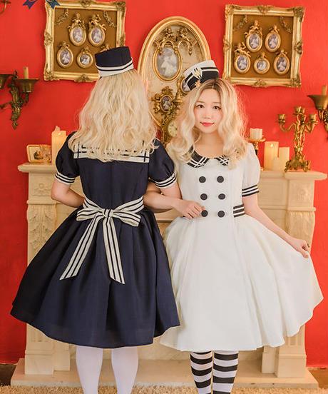[Baroque]  Sweet Marine セーラーワンピース【ご予約商品】