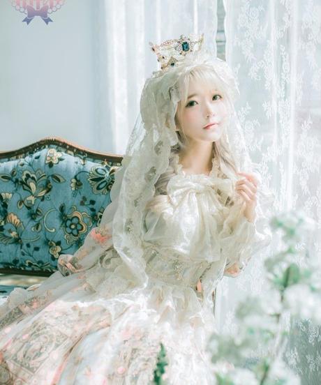 [Baroque] Baroque x KIYORE 'ROSARIA ROSARIO'  レーシージュエルコルセット【ご予約商品】