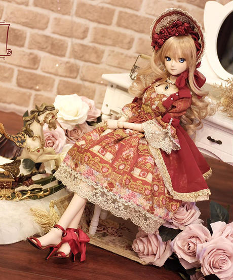 Repose of Queen ~女王の安息所~  コロネーションドールドレス  SD SIZE FULL SET 【決済3日以内発送】