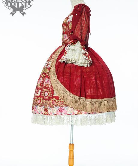 Repose of Queen ~女王の安息所~  コロネーションドレス XL SIZE ※サイズオーダー可能、予約、数量限定商品※【ご予約商品】