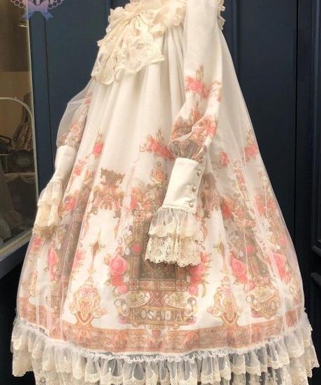 [Baroque] Baroque x KIYORE 'ROSARIA ROSARIO'  レーシーロングワンピース【ご予約商品】