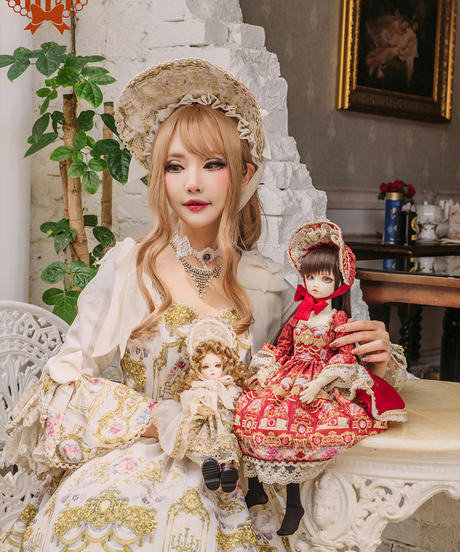 Repose of Queen ~女王の安息所~  コロネーションドールドレス  USD SIZE DRESS SET 【決済3日以内発送】