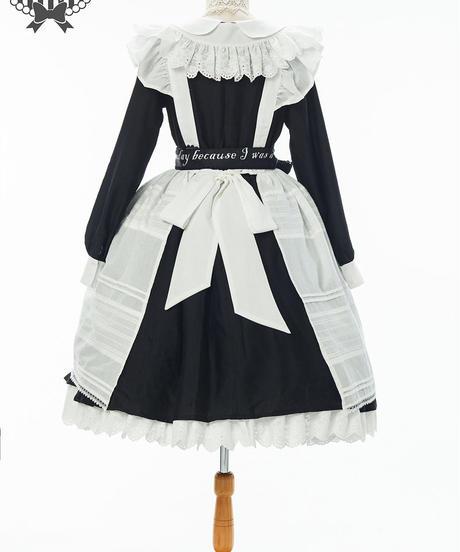 [Baroque] LOVELETTER From ALICE チェーシャーロングエプロン【ご予約商品】