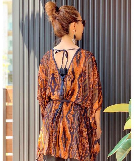 AIC ★ 2way  poncho blouse