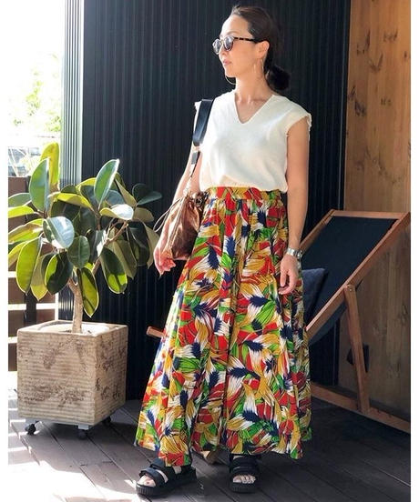 AIC ★ flare skirt