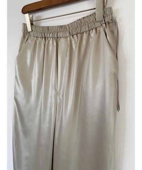 FOSI. ★ leather like satin pants