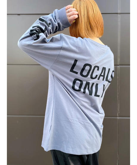 CHIGNON ★ logo long T-shirt