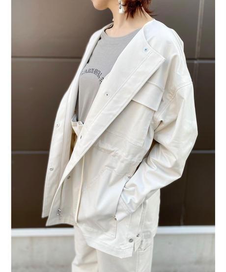 FOSI. ★  collarless military jacket