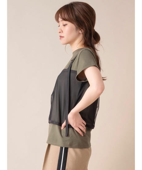 SRIC ★ bustier docking T-shirt