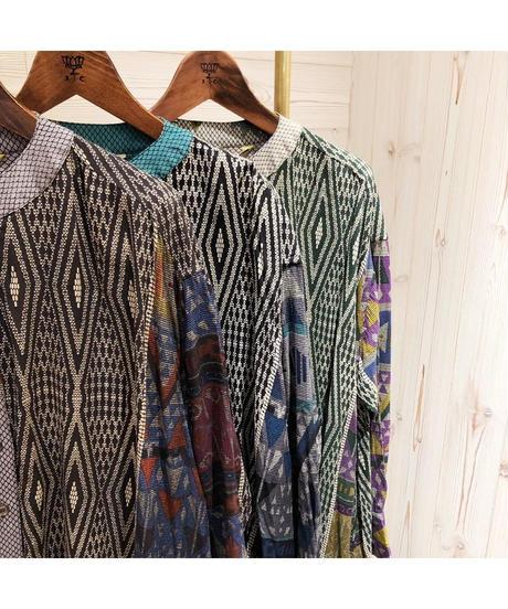 AIC ★ print shirt one-piece